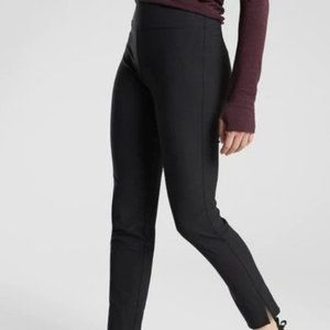 Athleta Wander Slim Ankle Pants size 16 Black